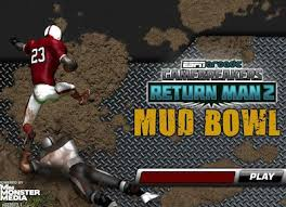 game screen of mud bowl